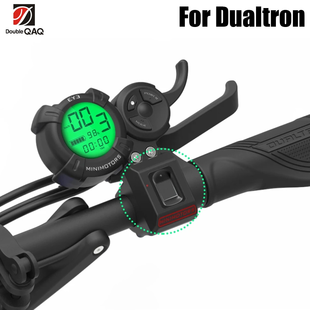 lcd display for electric scooter dualtron thunder Finger Print for DUALTRON electric scooter Thunder and Dualtron III DT3 DTX spider