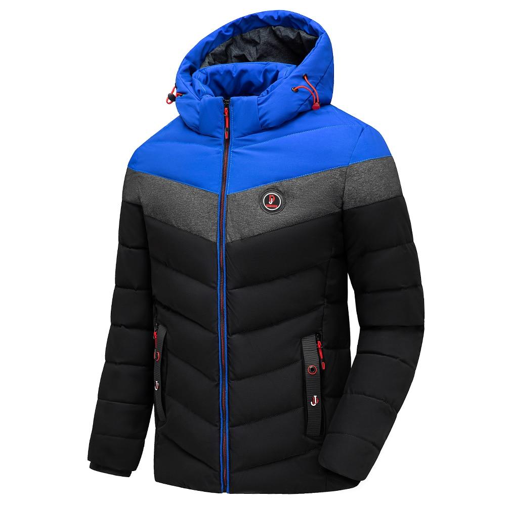 Vyrai žiemą visiškai naujas laisvalaikio šiltas storas - Vyriški drabužiai - Nuotrauka 2
