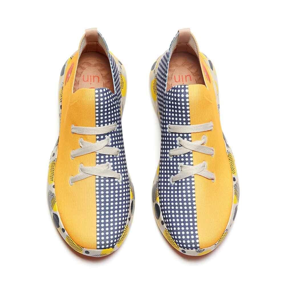 UIN المرأة/الرجال أحذية رياضية خفيفة الوزن المشي الانزلاق عادية Ons الفن رسمت رياضية أحذية السفر الوالدين-أحذية أطفال