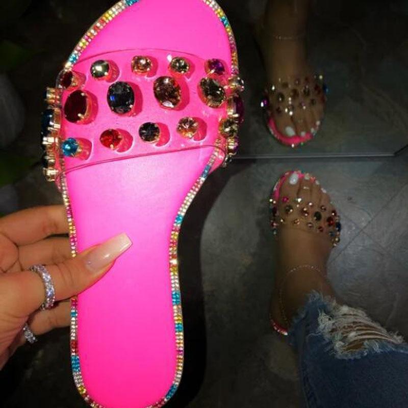 Zapatillas De deporte Zapatillas De Mujer Pantufa Klapki Damskie Na Lato Chinelo femenino sandalias Ciabatte Donna zapatilla deslizante Havaianas Chinelos