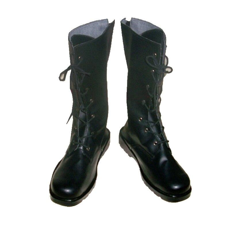 أزياء تنكرية من أنيمي سايتو هاجيمي للجنسين ، أحذية أحذية مصنوعة حسب الطلب