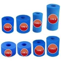 swimming pool filter foam reusable washable for has1iiivi dviib type pool filter sponge cartridge suitable bubble jetted
