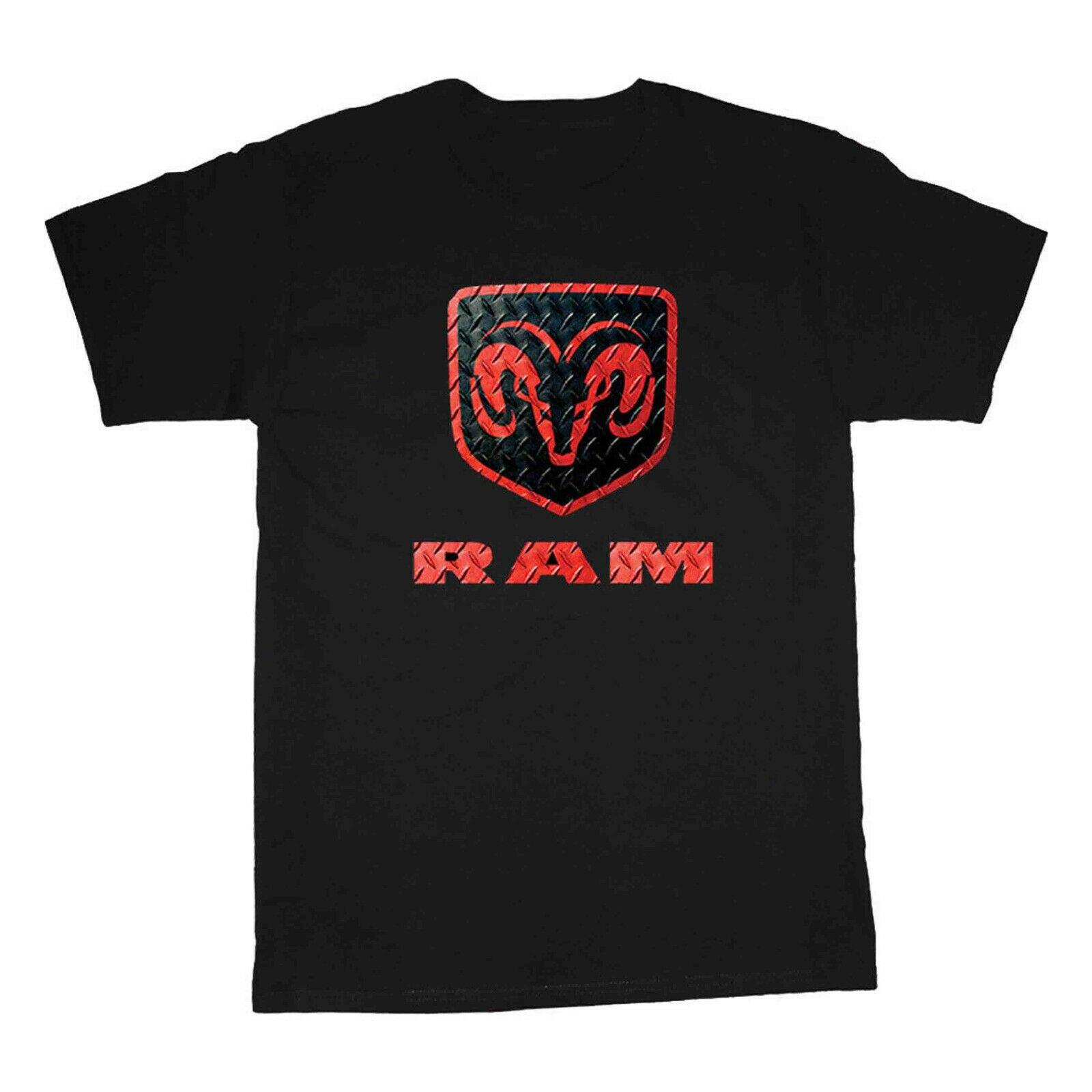 Camiseta Dodge Ram para hombre, camisetas con Logo de Ram para hombre, ropa Dodge