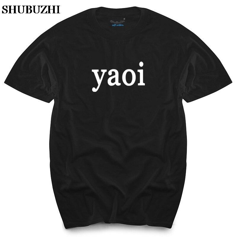 Yaoi Lustige One wort T Hemd Alle farben & Größen Baumwolle t-shirts sommer shubuzhi marke top tees neue sommer