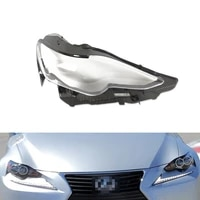 headlight lens for lexus is300 is250 2013 2014 2015 headlamp cover car replacement auto shell