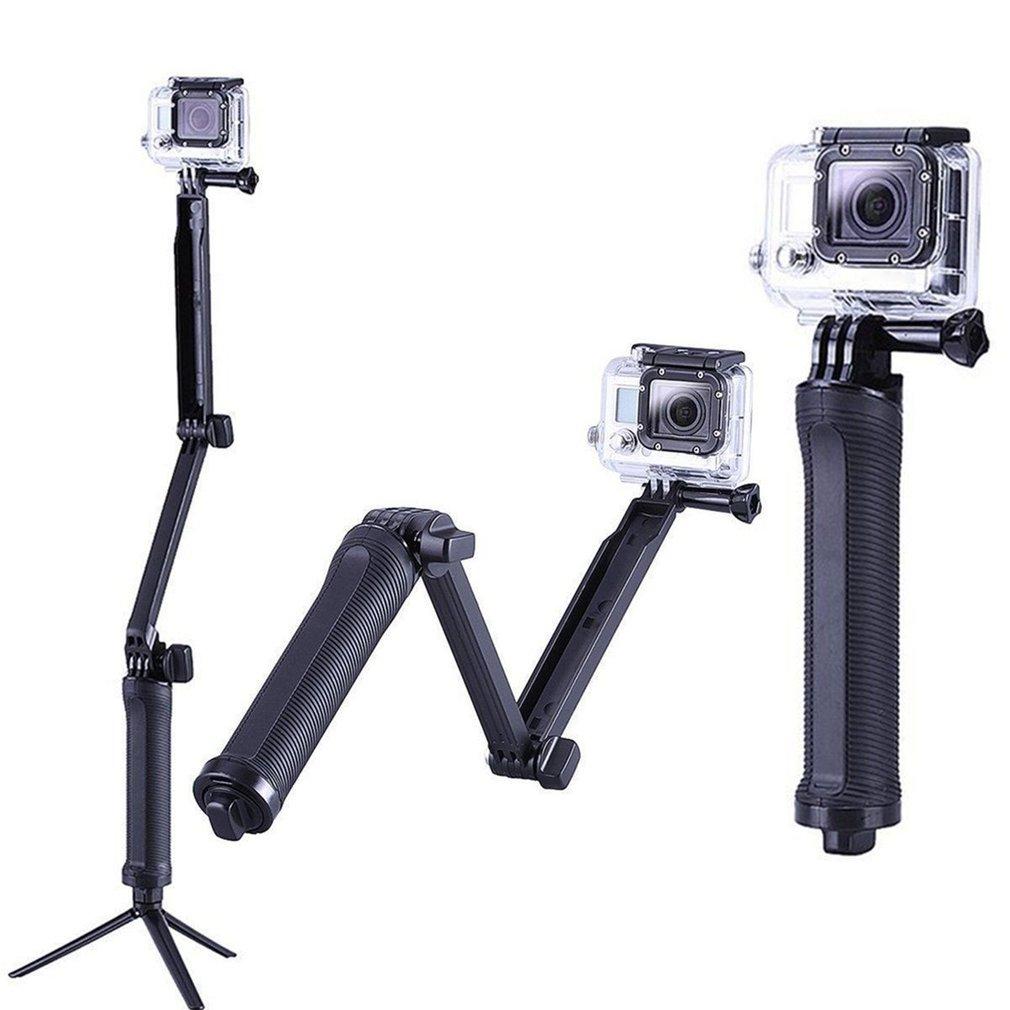 3 Way сцепление водонепроницаемый монопод Selfie палка штатив-Трипод стойка для экшн-камеры GoPro Hero 7 6 5 4 Session для Go Pro аксессуар
