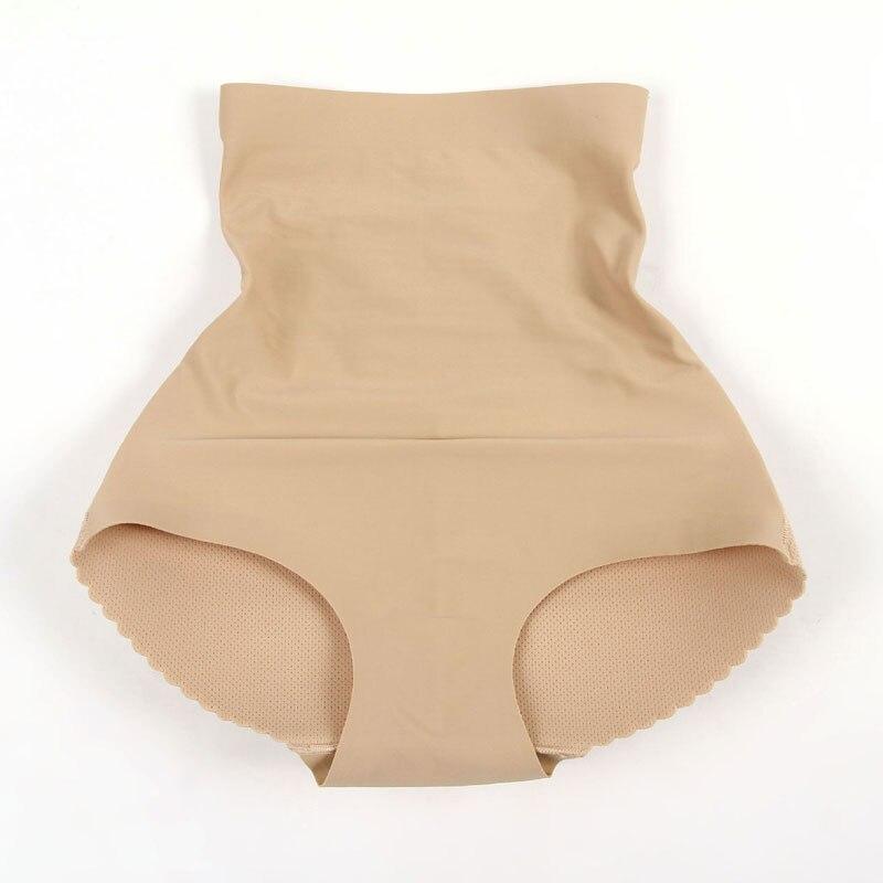 Sexy Panties Seamless Slim High Waist Briefs for Women Push Up Panties Butt Enhancer Ladies Shapewear Underwear Solid Panties