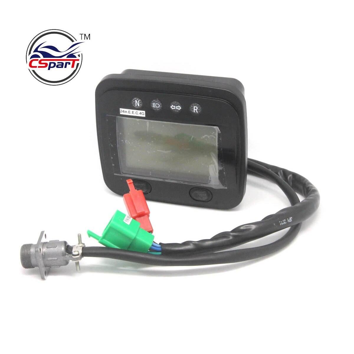 Linhai 250 260 300 400 instrumento atv 400cc 300cc 260cc velocímetro digital odômetro euro tacômetro padrão