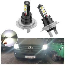 2 sztuk samochodów jasna żarówka do lampy przeciwmgielnej H7 H4 H8 HB3 latarka czołowa Led dla Kia Ceed Rio 3 4 Sportage Cerato Sorento Optima Picanto Sorento