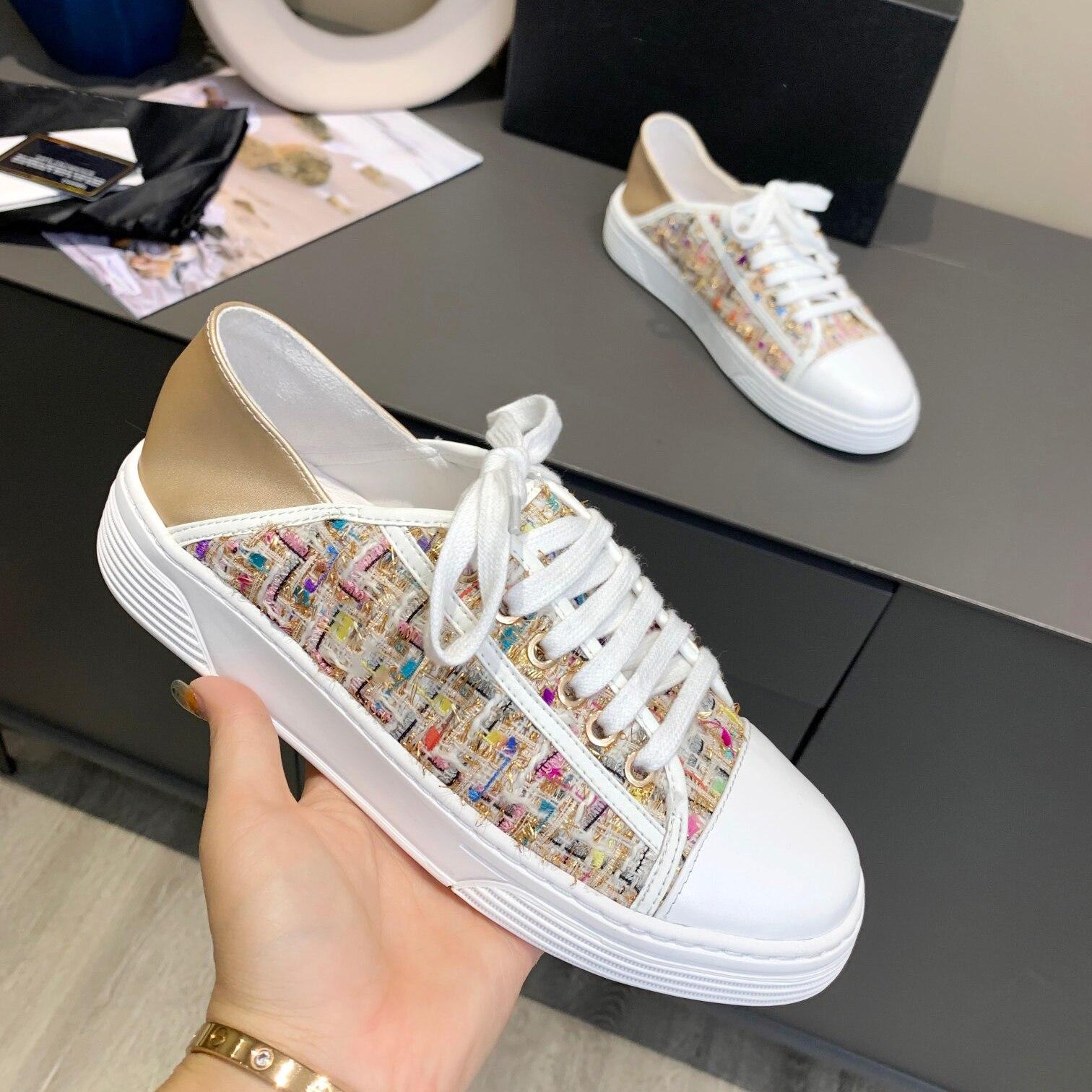 2021 مصمم أحذية النساء جديد شقة عادية لينة السيدات المتسكعون Zapatos دي موهير موضة مريحة الترفيه أحذية رياضية المدربين