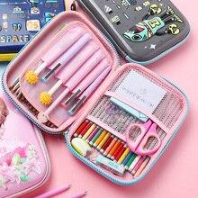 Unicorn Kawaii  Pencil Case Pencil Box Cute Large Capacity Multifunctiona  Pencilcase Pen Case Schoo