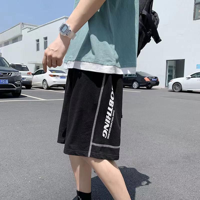 Мужские летние спортивные шорты из 2021 хлопка, повседневные Черные мужские бордшорты, Мужская классическая одежда, пляжные шорты для мужчин