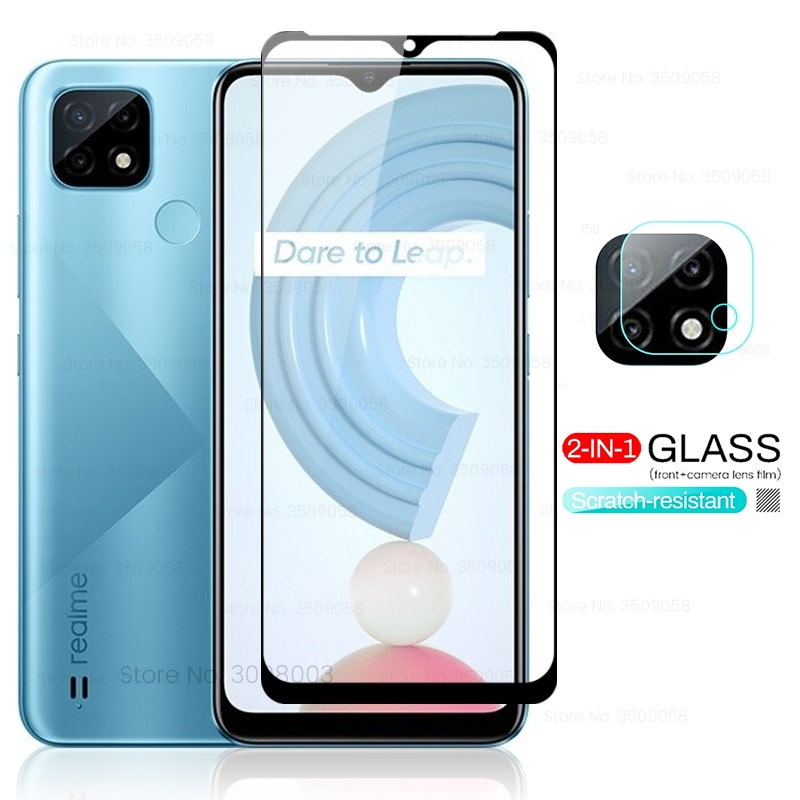 tempered glass on realmi c21 screen protectors for oppo realme raelme realmy real me c21 c 21 21c 6.