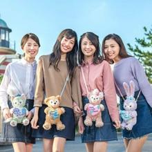 Japan Duffy Bear Stellalou Rabbit Shelliemay Plush Toy Doll Bag Women Cartoon Duffy Bear Stellalou Crossbody Bag for Children