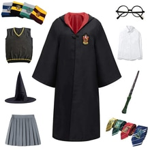 Adult Kids Cosplay Costume Clothes Magic Cloak Children Robe Cape Shirt Skirt Cosplay Hoodie For Kid