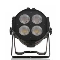 200w warm whitecold white cob led par light spotlight 4x50w led audience lights dmx512 cob led blinder stage lighting backlight
