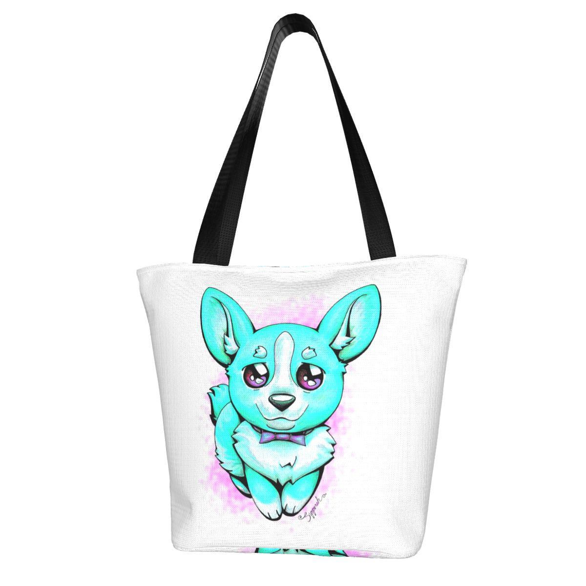 Аниме Сумка для покупок оптом многоразовая сумка тканевые уличные сумки для студентов