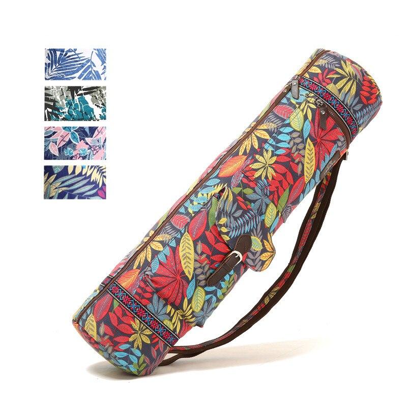 Сумка для йоги с принтом, 72*18*18 см, сумка для коврика для йоги, коврик, сумка, коврик для пилатеса, рюкзак, спортивный ранец, коврик для фитнеса, танцев, гимнастики, чехол