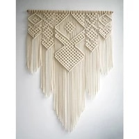 nordic woven lace tapestry home living room wall decoration bedside background bohemian tapestry