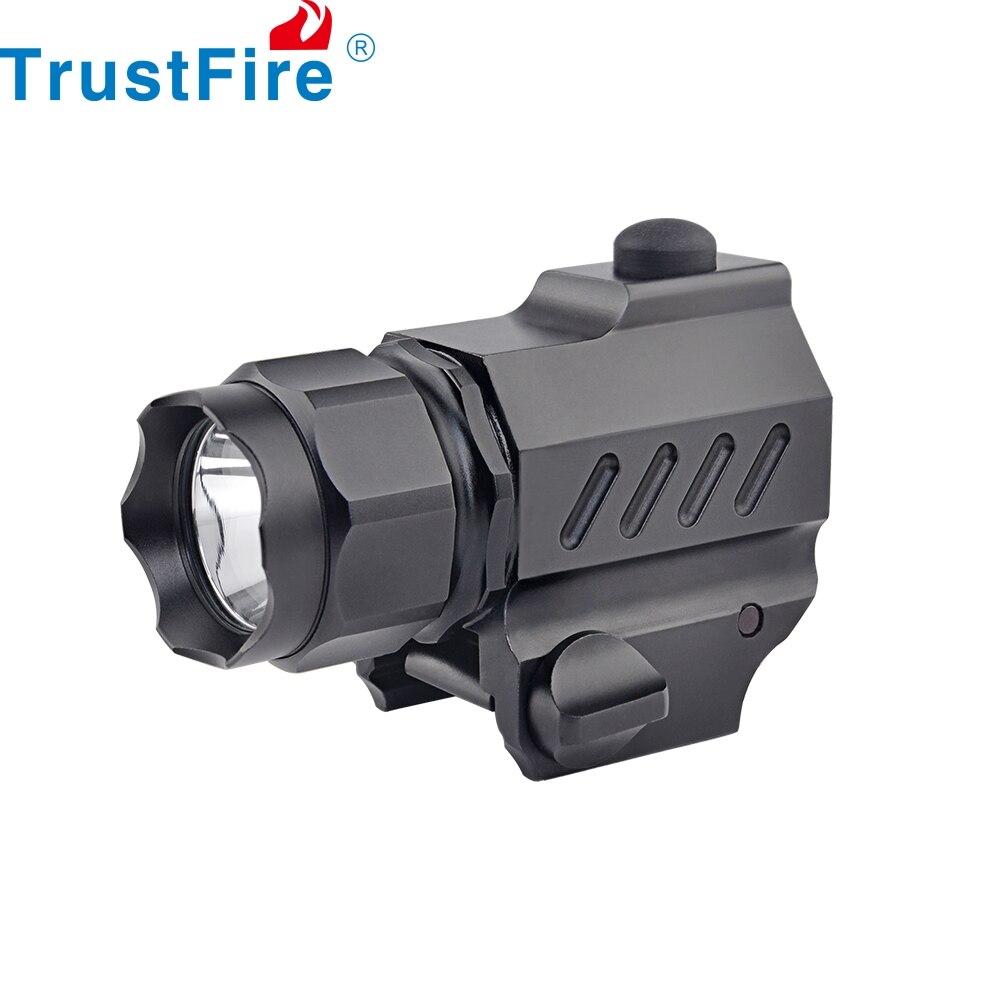 TrustFire G01-مسدس تكتيكي خفيف مضغوط ، مصباح يدوي 210 لومن ، حامل سلاح ، لـ Glock 17 19 21 22 30 43 48