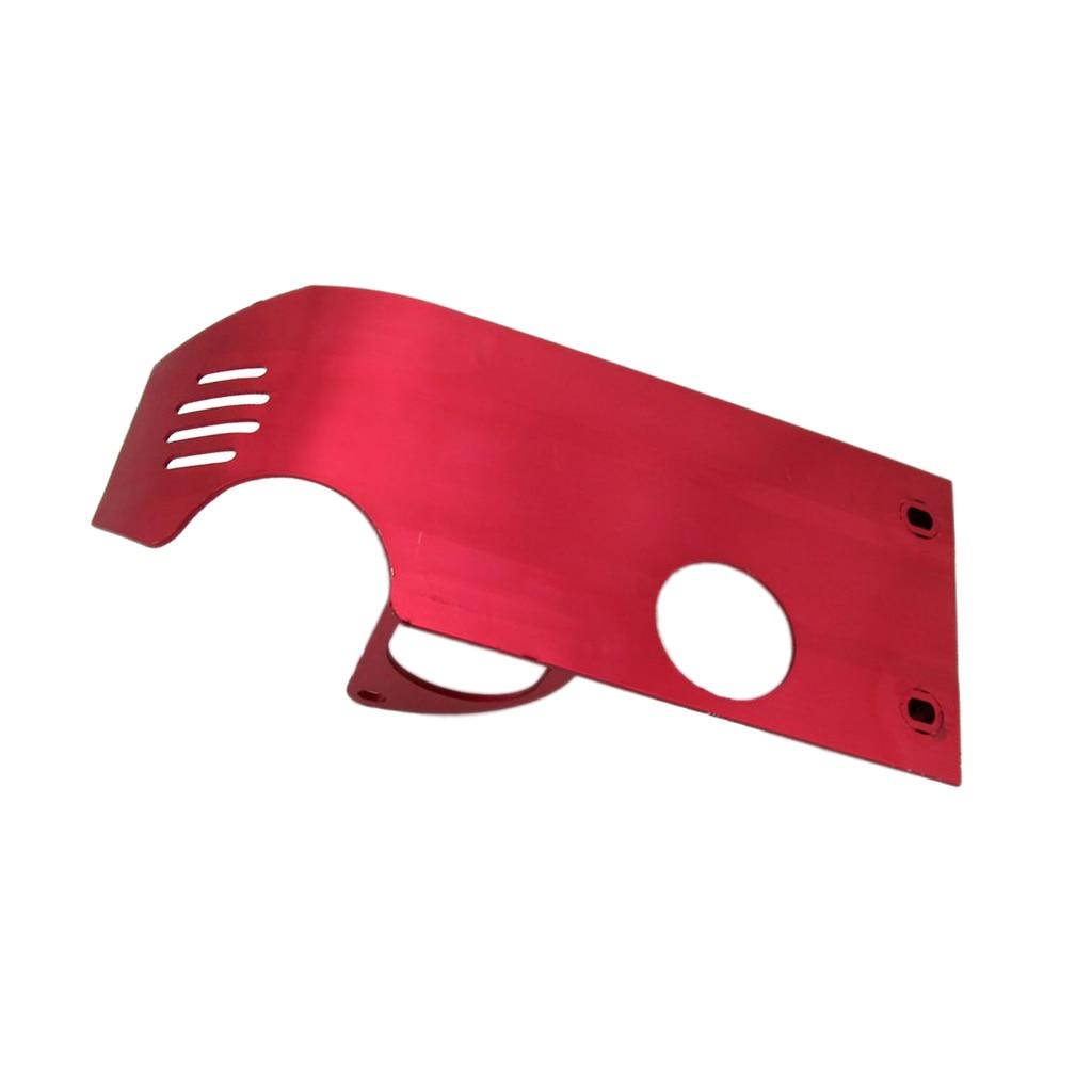 Dirt Pit-Protector de placa de deslizamiento para Honda XR50, CRF50, XR, CRF70, color rojo, 110cc