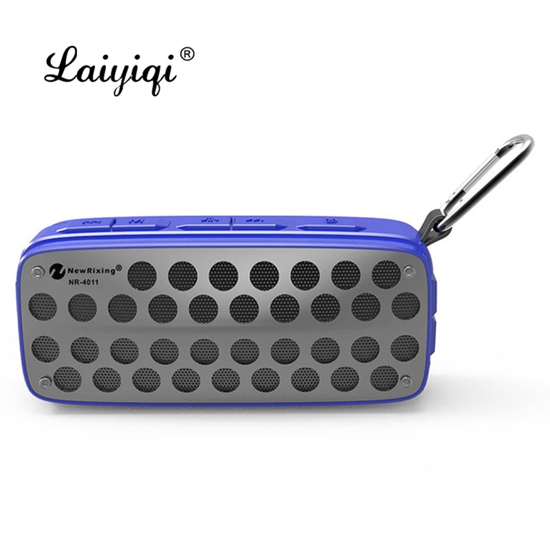 Laiyiqi 2019 caliente columna salpicaduras portátil montaña climbe altavoz inalámbrico Bluetooth caja de resonancia woofer caixa de som tn xtr mon