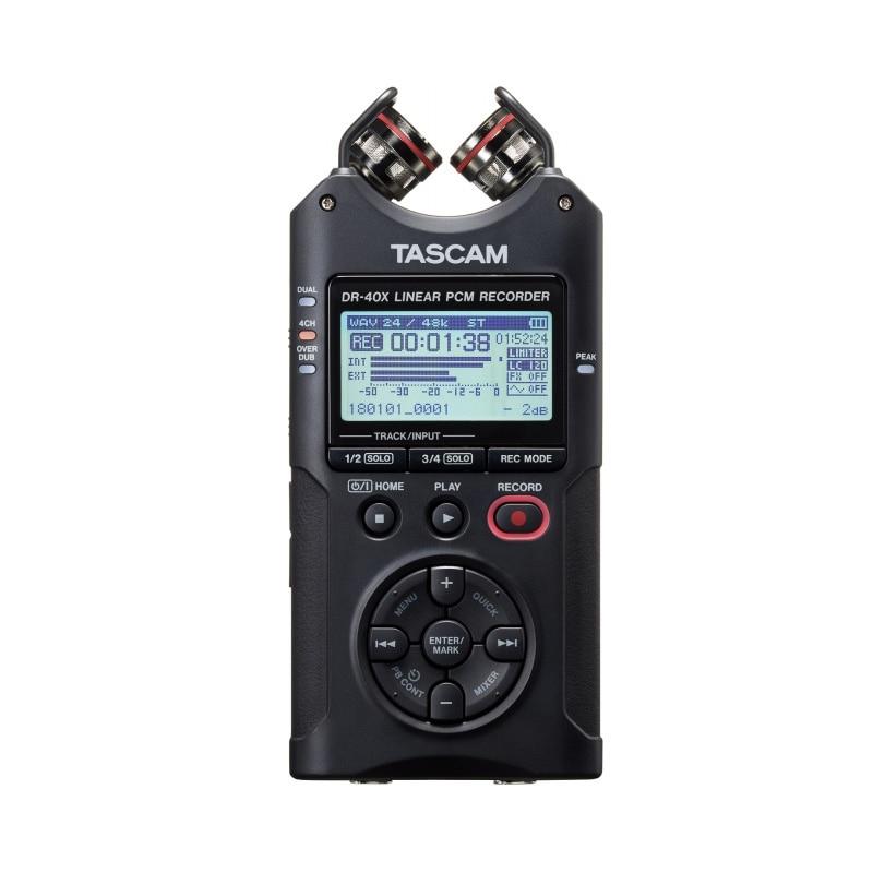 ¡Oferta! Tascam DR-40X DR40X grabadora de voz digital portátil pluma de grabación profesional marca original lineal PCM y MP3