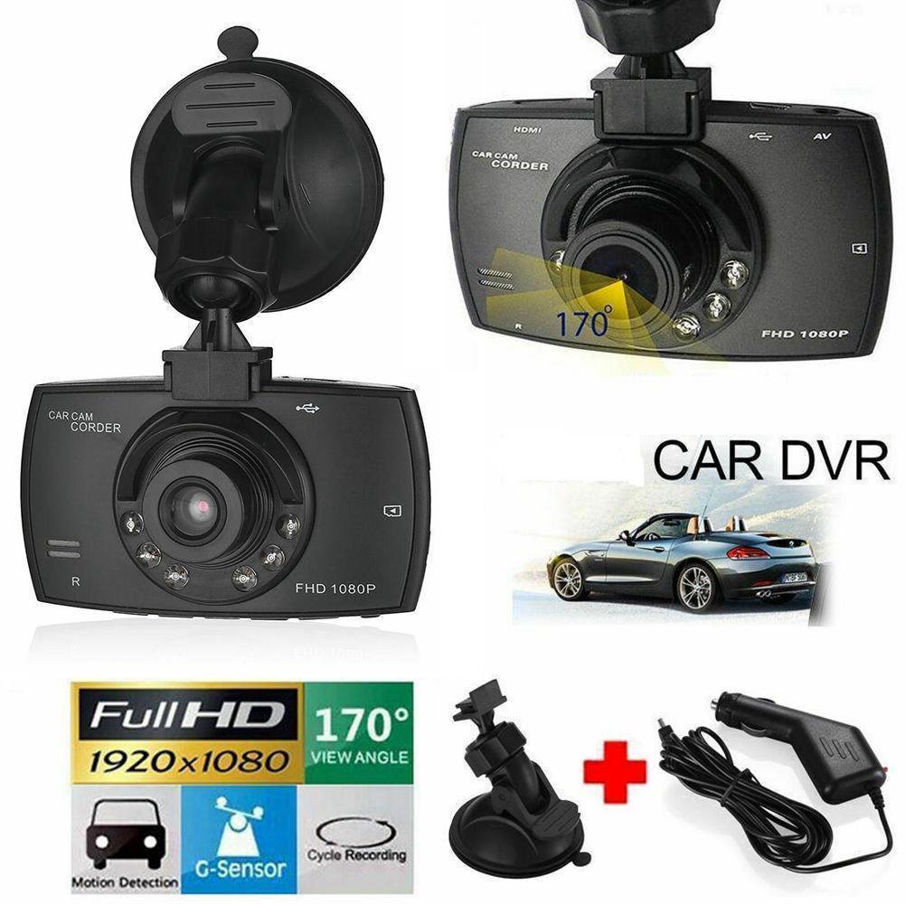 Видеорегистратор, автомобильная камера Full HD 1080P, Автомобильные видеорегистраторы с ночным видением, G-сенсором, видеорегистратор, автомобил...