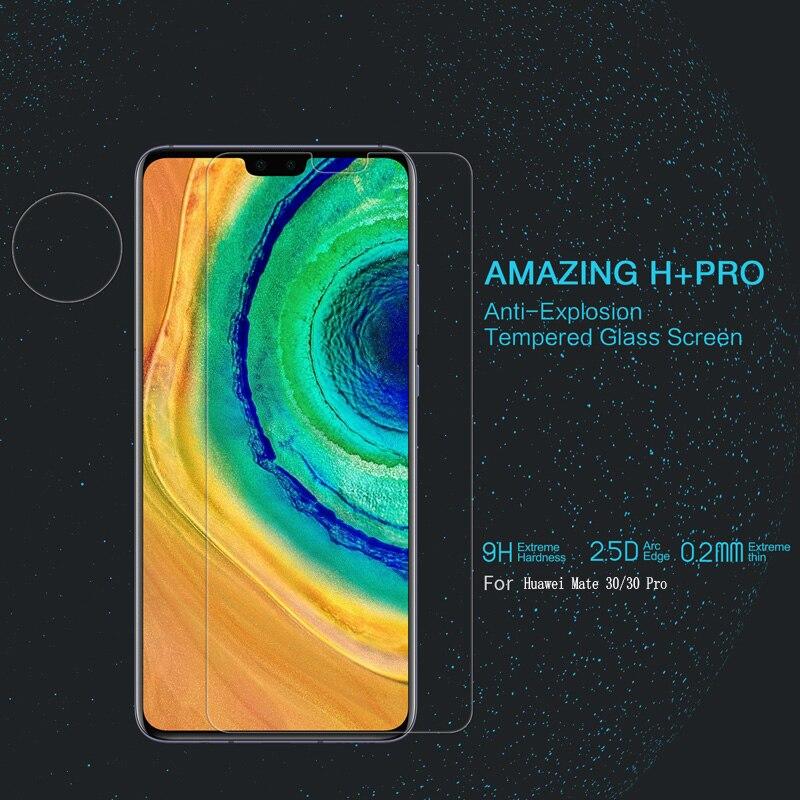 Para Huawei mate 10/10 Pro/20/20 Pro/30/30 Pro cristal Nillkin H + Pro 2.5D borde redondo 0,2mm Protector de pantalla de vidrio templado