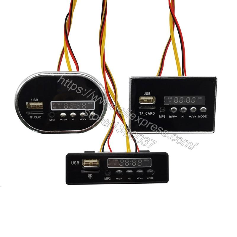 Детский музыкальный плеер с электромобилем 12 В, имеет вводной и звуковой сигнал, отображение напряжения, может воспроизводить музыку на флеш-накопителе USB