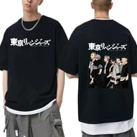 japan anime tokyo revengers tshirt mens cartoon print t shirt men women oversized eu size t shirt manga tee cotton short sleeve