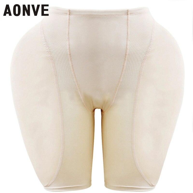 Aonve engrossado fake butt lifter calcinha de nádega lingerie sexy shaperwear corpo das mulheres
