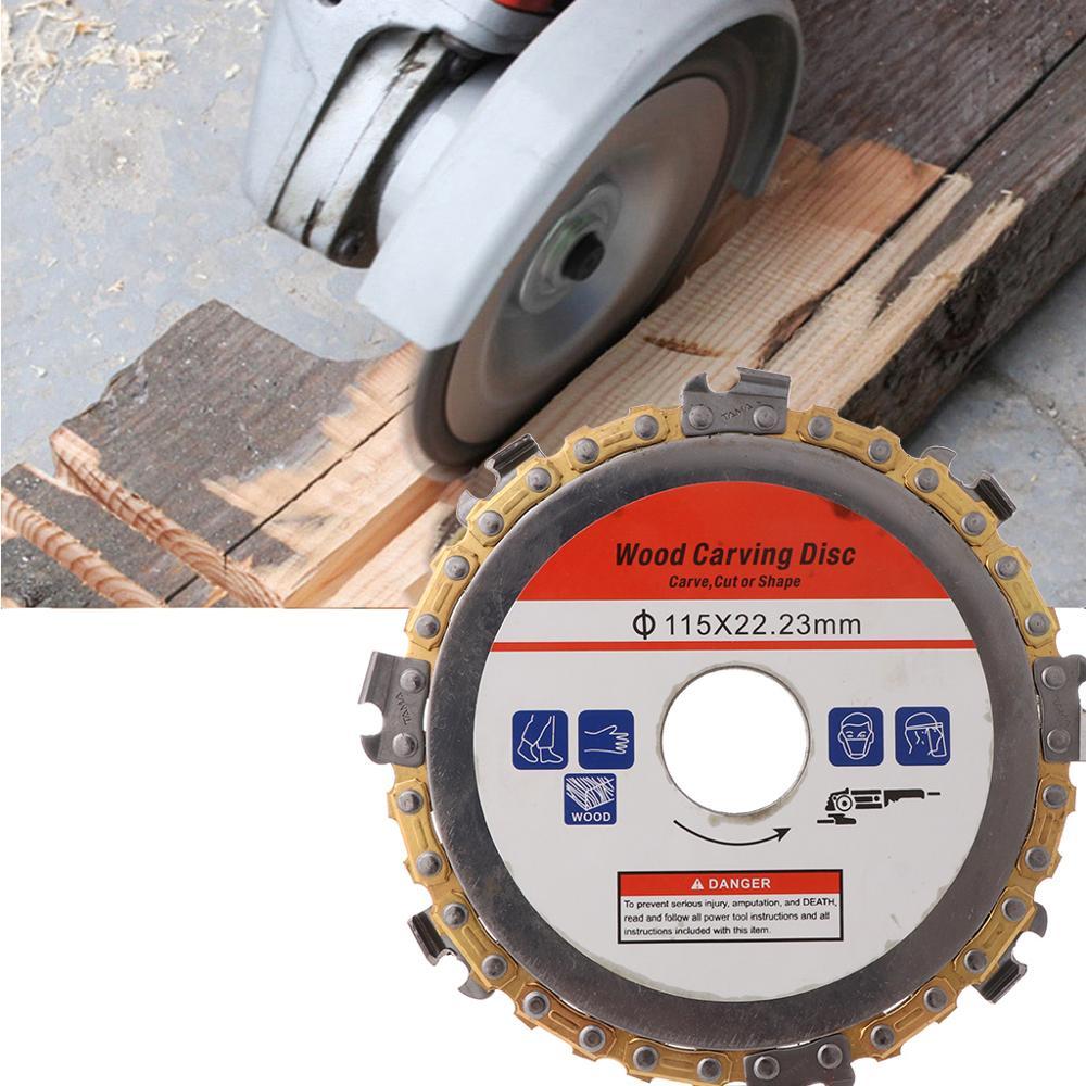 115 мм 22 мм диаметр 9 зуб бензопилы диск для угловых шлифовальных машин циркулярная пила Лезвие для обработки древесины резки древесины шлицевая режущая часть