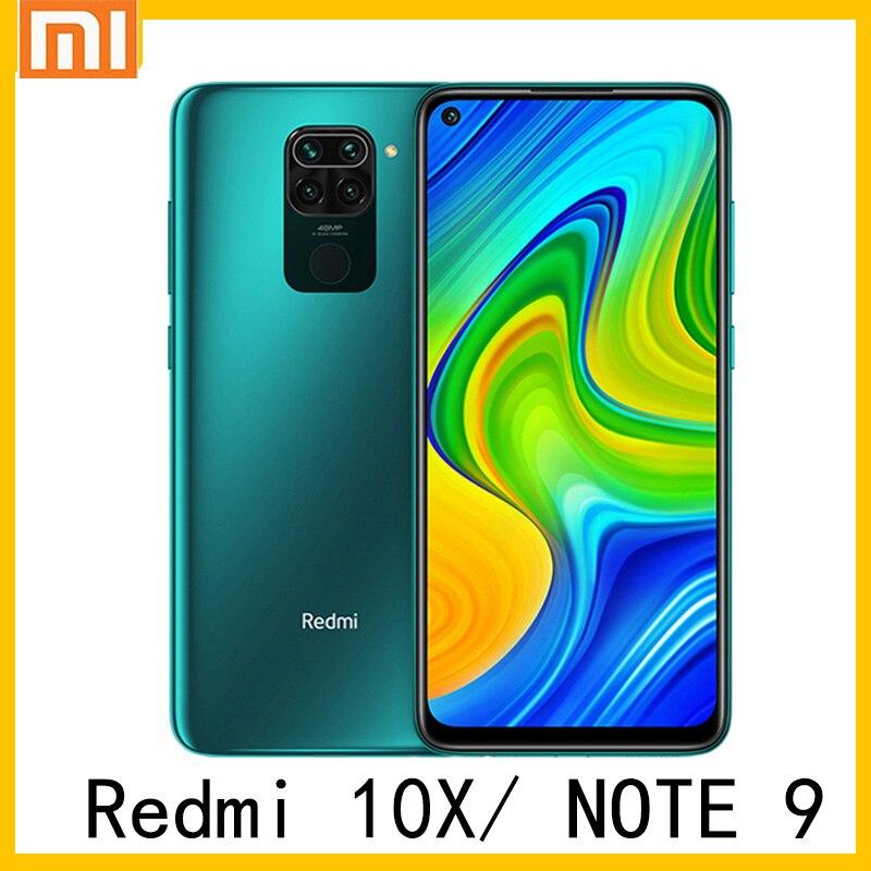 Xiaomi Redmi 10X / Redmi note 9 Global ROM 4GB RAM 128GB ROM Mobile Phone MTK Helio G85 48MP Quad Camera 5020mAh