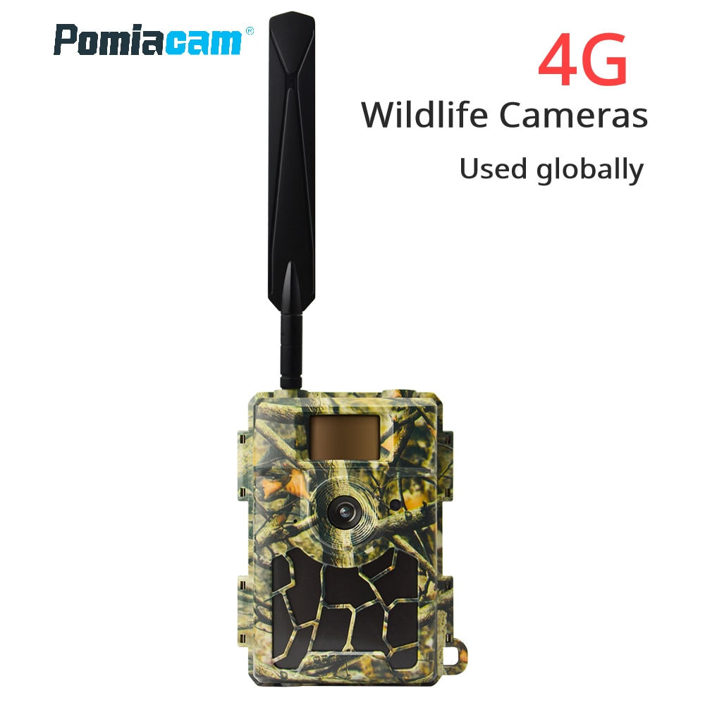 Promo S312  4G SIM Trail Camera Cloud Service 4G Cellular Wildlife Hunting Cameras Wireless Surveillance shipping with free SIM card