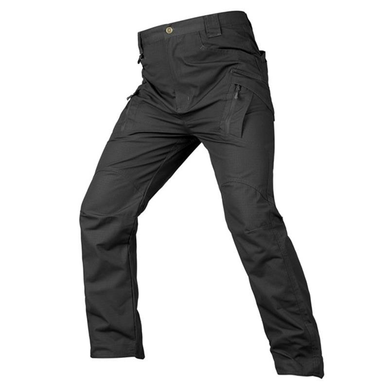 Брюки-карго мужские тактические, повседневные спортивные штаны в стиле милитари, боевые армейские брюки, водонепроницаемые износостойкие ...