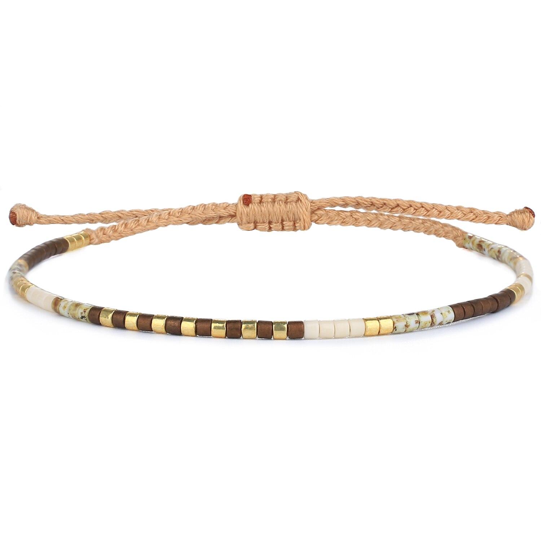 KELITCH Miyuki Bracelets Beaded Bijoux Homme Jewelry Bangles Bacelet For Women Men Friends Joyas Cad