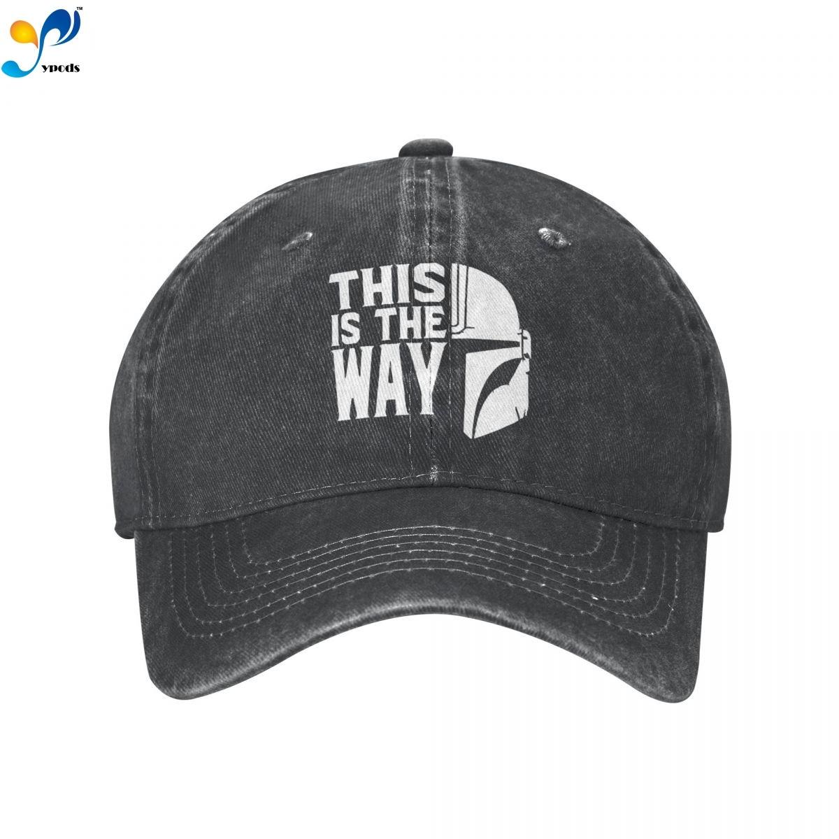 Это My Way джинсовая бейсболка, Снэпбэк кепки, шапки для мужчин и женщин, мужская Кепка, кепки, шапки