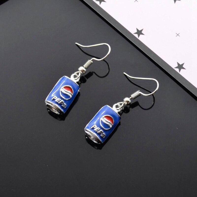 Neue Kreative Einfache Koks Flasche Ohrringe Personalisierte Nette Handmake Ohrringe Für Frau Schmuck Geschenk
