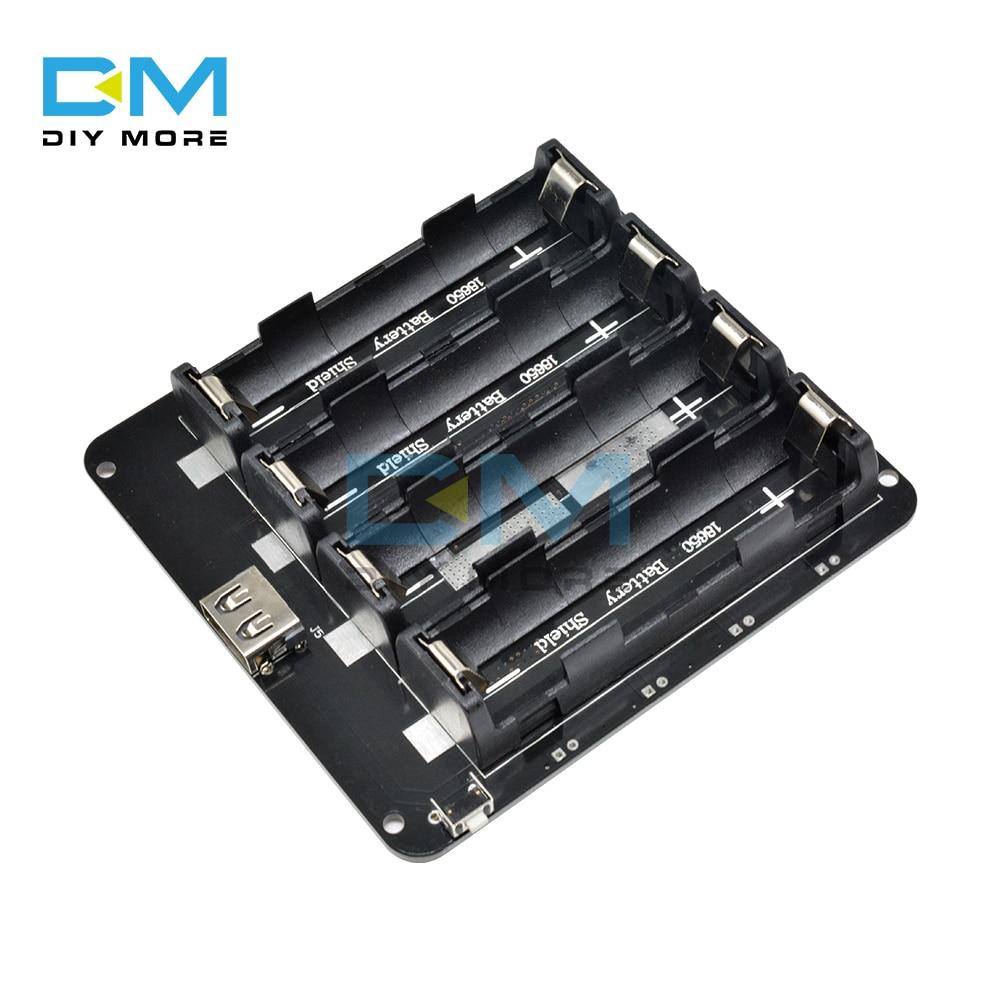 2X 4X 18650 литиевая Защита аккумулятора V8