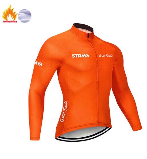 Equipo profesional de Invierno para Ciclismo, Maillot de manga larga térmico para...