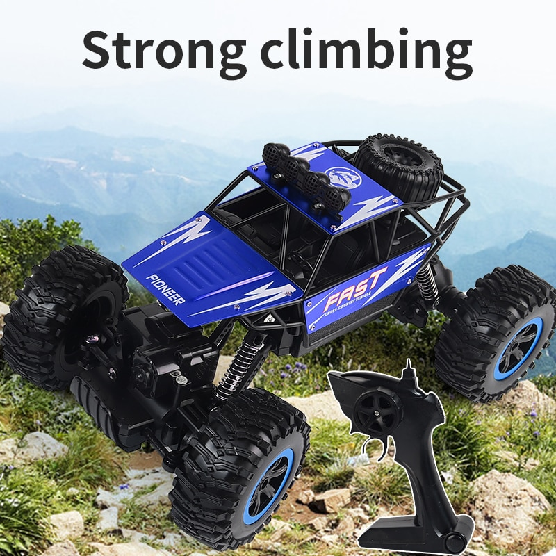 4WD RC Car Updated Version 2.4G 1:14 Radio Control Toys Remote Control Car Vehicle Trucks Off-Road T