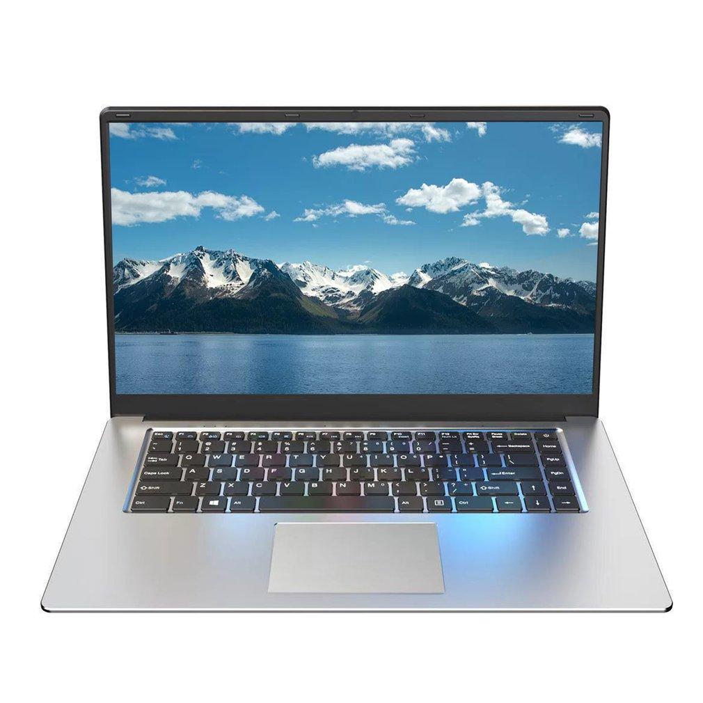 15.6-inch Silver Ultra-thin Laptop CPU Intel Celeron 8350 Beautiful Durable And Practical Multifunctional Laptop enlarge