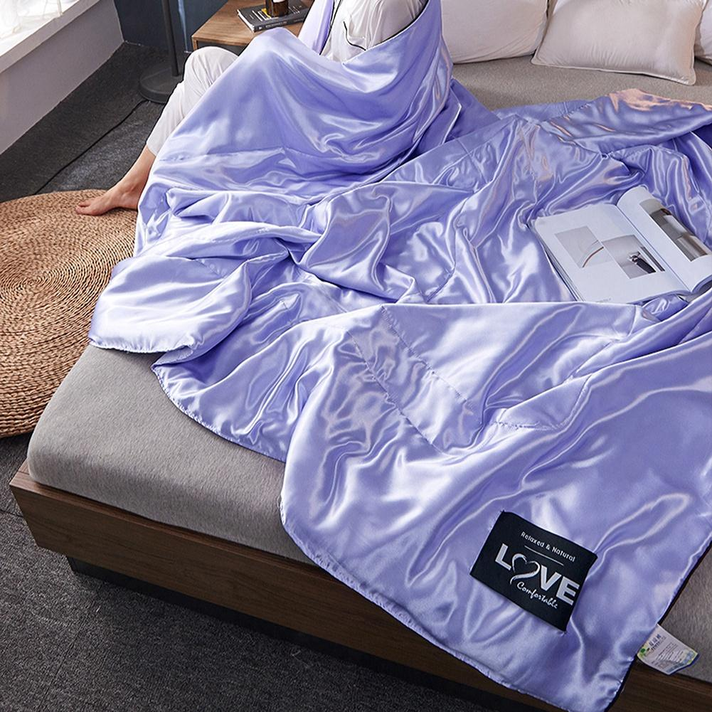 الصيف الكبار الأطفال غسلها الحرير بطانية مكيف الهواء لحاف المفرش المفرش طقم سرير لحاف الصيف تكييف الهواء