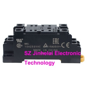 10pcs New and original PYFZ-08-E OMRON  Relay socket (Is PYF08A-E updated version)