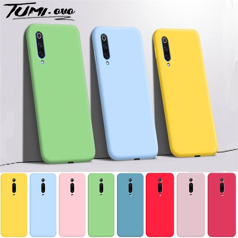 Candy Soft Case For Xiaomi Note 10 Pro Mi A3 Lite Silicone TPU Cases For Redmi Note 9S 8T 8 7 9 Pro