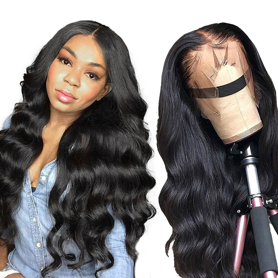 Body Wave Wigs Lace Front Human Hair Wigs 13x6x1 T Part Lace Wig Middle Part Lace Frontal Wig Remy Malaysian Human Hair Wigs недорого