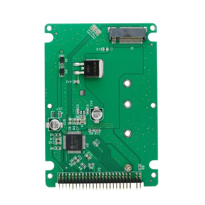 M.2 NGFF B + M llave SATA SSD a 44 Pin 2,5 IDE convertidor tarjeta adaptadora con funda