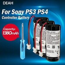 LIS1441 LIP1450 3.7V 1380mah batterie au Lithium Rechargeable pour Sony PS3 PS4 Play Station déplacer le contrôleur de mouvement main droite