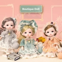 new bjd 16cm doll with 13 movable joints 112 boutique series princess doll fashion dress up childrens decoration gift girl toy